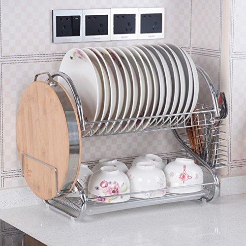 Kitchen storage racksdrainBowlDishes the cupboard storage box-A