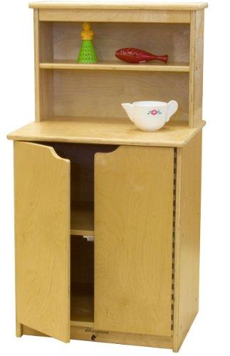 "Learningground Birch Play Cupboard Storage 20""W x 15 ½""D x 35""H"