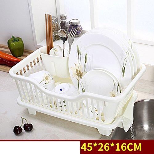 Plastic cupboard storage box bowlChopsticksholder drain basket-H
