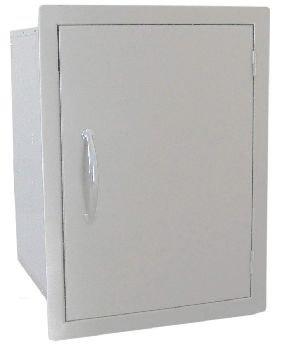 24 X 17 Vertical Dry Storage Pantry with Shelf