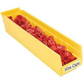 Akro-Mils 30170YELLO Shelf Bin 11-58 In L 4 In H Yellow