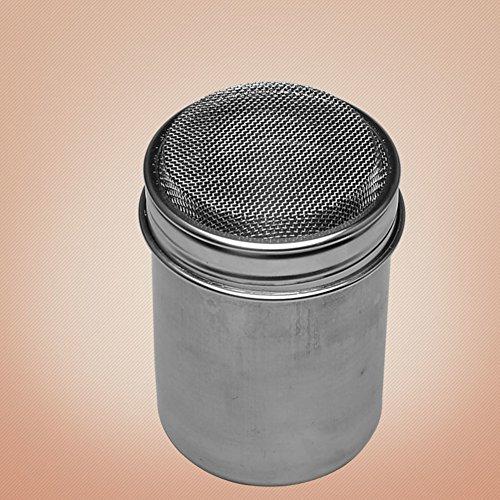 seasoning bottlesThick stainless steel powdered sugar sieve flour canister salt shaker Duster