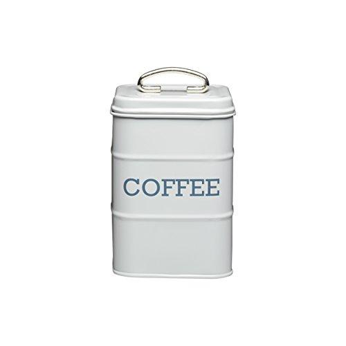 11cm x 17cm Grey Coffee Canister