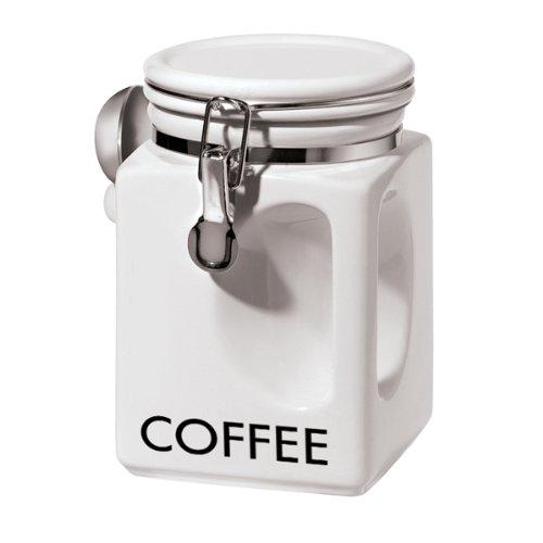 Oggi 58321 EZ Grip Coffee Canister White