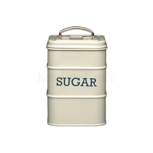 Kitchen Craft Sugar Canister 11 x 17cm Cream