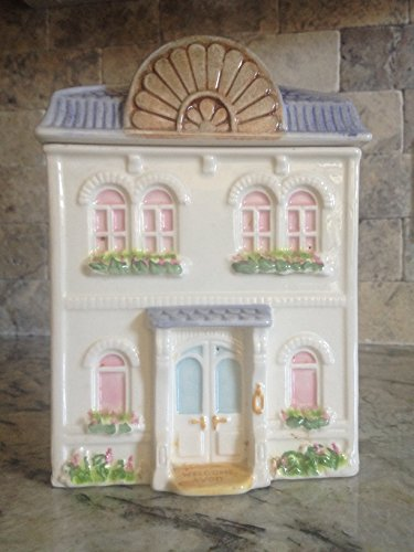 Avon Townhouse Canister Collection Cookie Jar