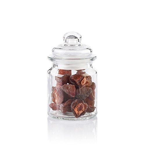 home kitchenGlass cruetSpice jarseasoning boxsalt shakersealed canister-H