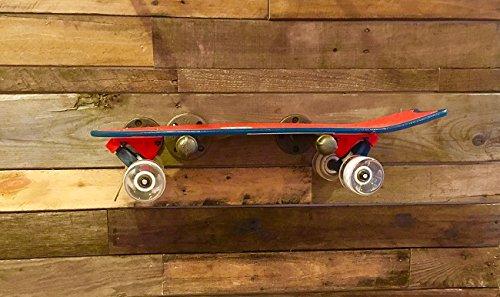 Industrial Skateboard Pipe Shelf 8Wx23L