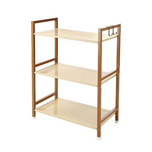 GEYUEYA Home 3 Tier Kitchen&Home Metal Storage Rack