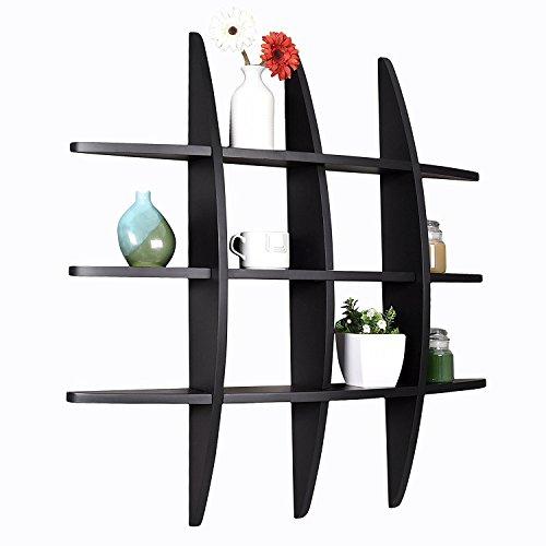 Lexington Globe Wall Shelf Decorative Accent shelf Black