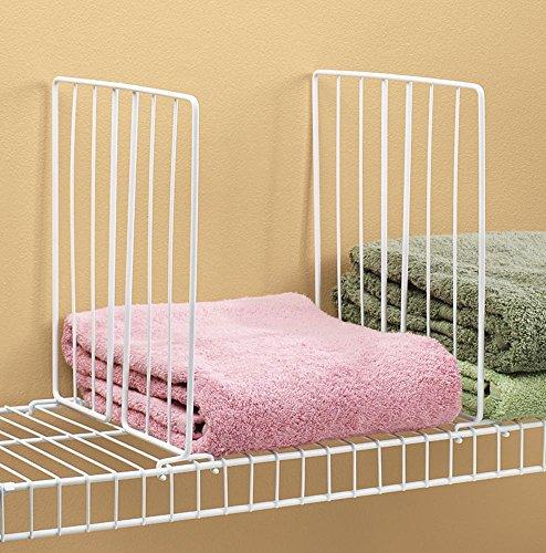 Miles Kimball Wire Closet Shelf Dividers