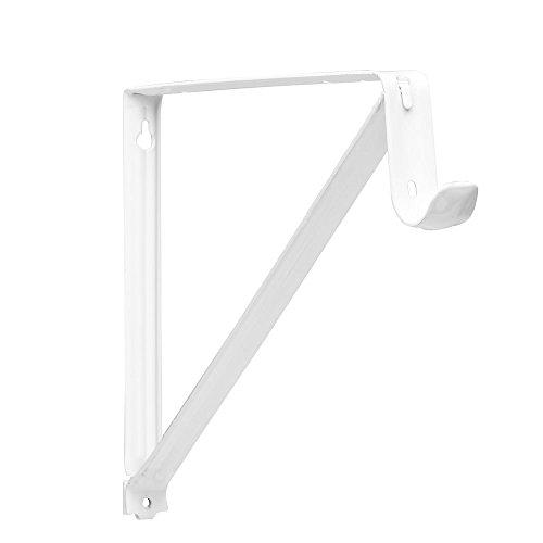 Closet-Pro RP-0045-WT Shelf And Rod Closet Bracket White