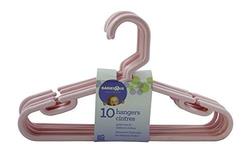 Babies R Us 10 Pack Hangers - Pink