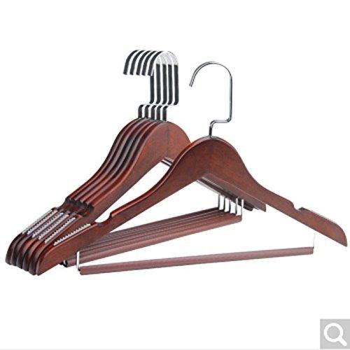 Solid Wood Antique Coat Hanger Men 10 Racks Support Women 2