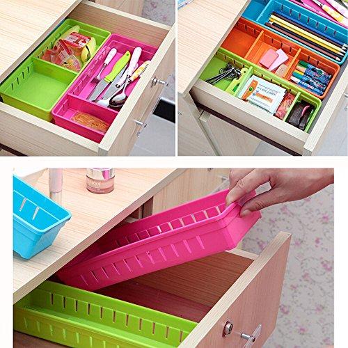 DODOING Creative Storage Drawers Drawer Organizers Plastic Drawer Dividers Drawer Storage Box Stationery Makeup Storage Box