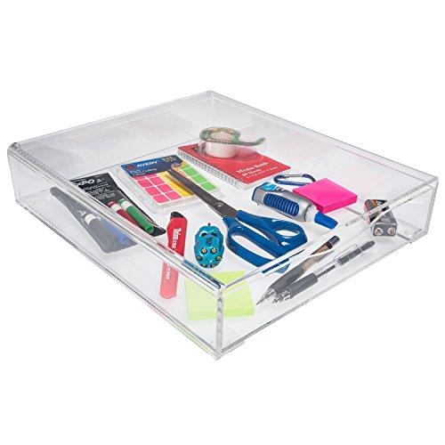 Lucite Drawer Organizer - Acrylic Drawer Organizer Stackable
