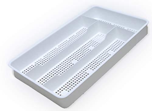 Dial Industries B694W Small Mesh Cutlery Organizer Tray White