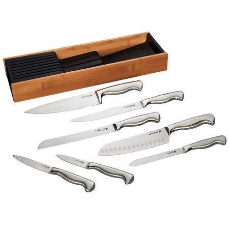 Sabatier 8-piece Cutlery Organizer- Forged German Stainless Steel