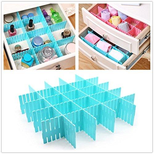 office drawer dividers. Homerity 12Pcs Drawer Organizer DIY Dividers Durable Plastic Adjustable Grid Separators Thickening Closet Office