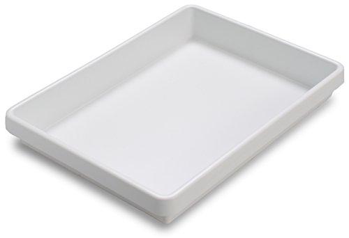 TrippNT 50190 White Polystyrene Plastic Big Drawer Organizer 1 Compartment Small 1675 Width x 238 Height x 129 Depth