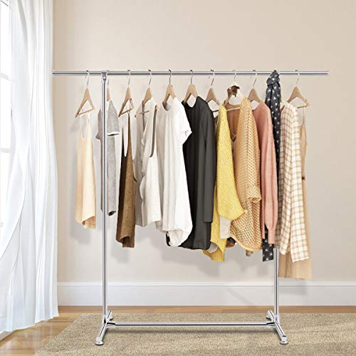 orchid prime Concise and Practical Household Clothes Rack Attractive and Functional Heavy Duty Stainless Steel Garment Rack for Balconies Yards Patio Laundry Room Bedroom and Dorm Room