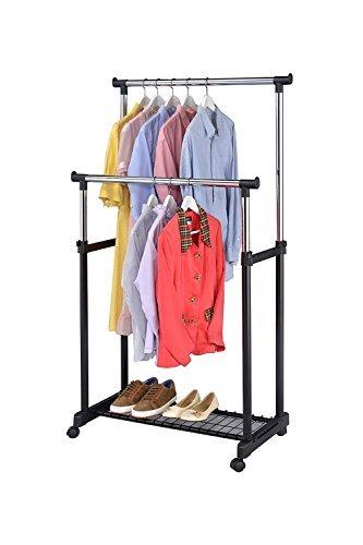 22 Coolest Garment Rack Wheels – Top Storage Ideas