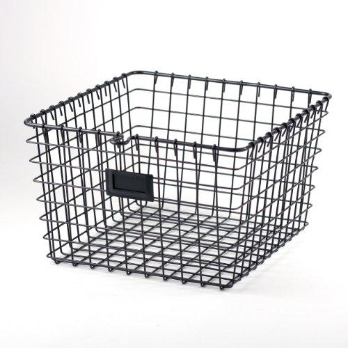 Spectrum Diversified Wire Storage Basket Medium Industrial Gray
