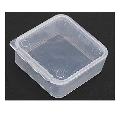 Travel Portable Transparent Plastic Storage Box Small Kit Medicine Drug Pill Case 35