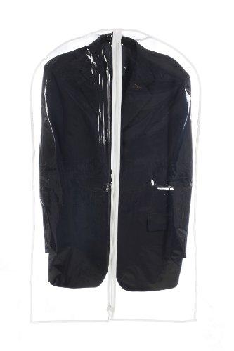 Vinyl 54 Clear Suit Dress Coat Garment Bag Travel Storage Organize Bag