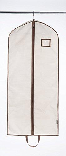 WANNAKEEP 54 Hanging garment storage bag for suits dresses Beige