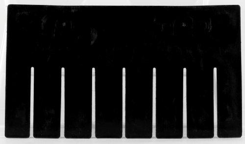 Akro-Mils 41220 Short Divider for 33220 Akro-Grid Slotted Divider Plastic Tote Box Pack of 6