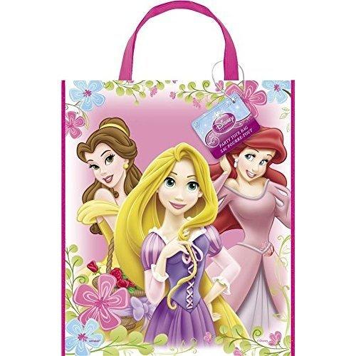 Disney Princess Party Plastic Tote Bag with Handle x 5
