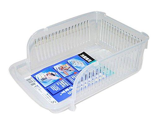 2316186 CM Refrigerator Storage Bin Stackable Storage Box Cabinet Organizer