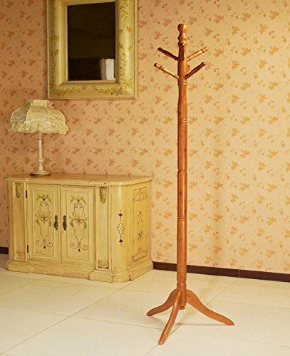 Frenchi Home Furnishing Frenchi Furniture Wood CoatHat Rack Stand in Oak Finish …