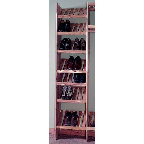 Northern Kentucky Cedar DVSC2412 Aromatic Red Cedar 24 in Deluxe Ventilated Shoe Cubby Kit