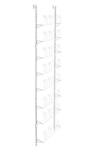 ClosetMaid 97536 Adjustable Wall Door Shoe Organizer