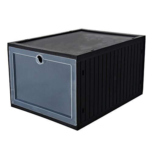 Anpay Novelty Drawer Type Shoe Storage Box Thicken Transparent Shoe Rack Cabinet OrganizersShoe Storage Container