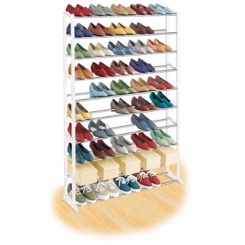 LYNK 50 Pair Shoe Rack