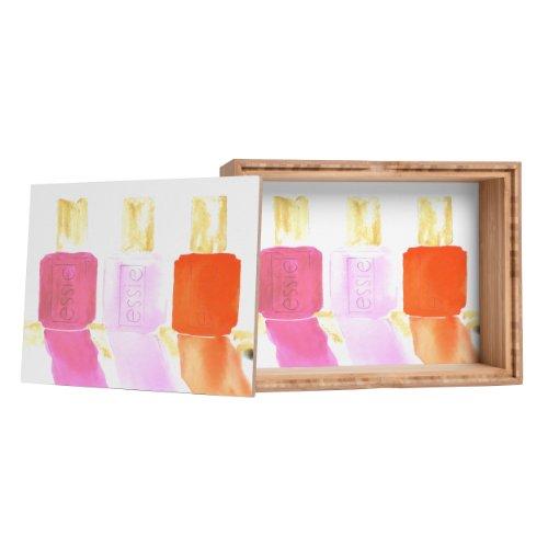 Laura Trevey Essie In Pink Storage Box