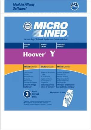 Esso HR-1495 Hoover Type Y Microlined Vacuum Bag - Pack of 3