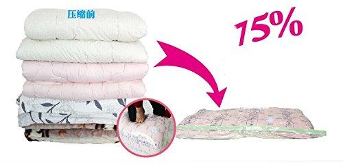 6 Pcs Vacuum Storage Bag&novelty Households Vacuum Space Bag&vacuum Package&vacuum Bags for Clothes Organizer