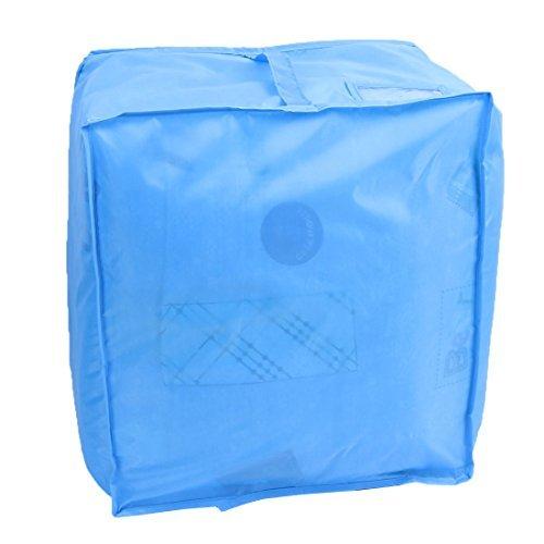 DealMux Foldable Dustproof Quilt Blanket Pillow Storage Bag Case Container