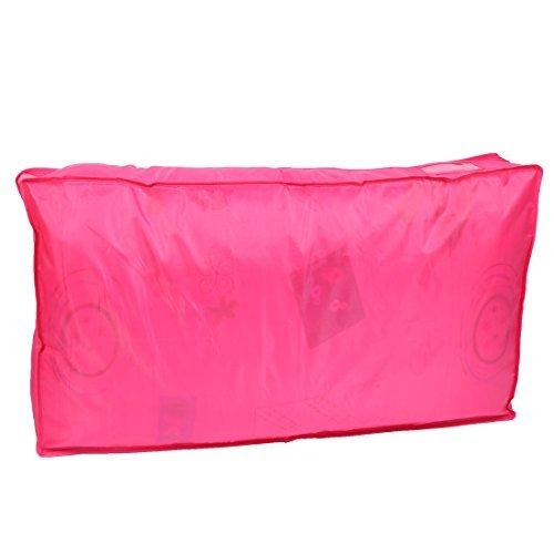 DealMux Quilt Blanket Pillow Storage Bag Case Container Organizer Hot Pink