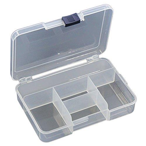4 Grids Clear Plastic Storage Container Box Transparent 145cmx105cm