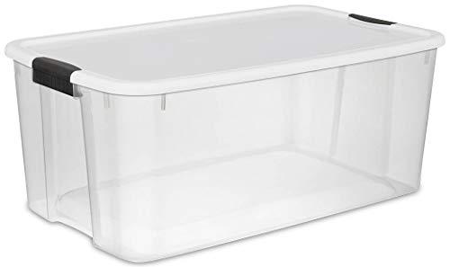 STERILITE 116 Qt Ultra Clear Plastic Storage Container 4 Pack  70 Qt Ultra Clear Plastic Storage Container 4 Pack