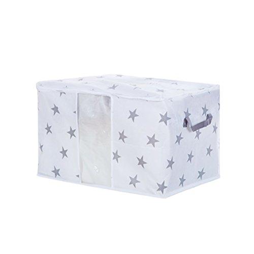 VORCOOL Clothes Blanket Storage Bag Organizers Duvet Storage Bags Quilt Pillow Blanket Foldable Bedding Storage Bags Large Size