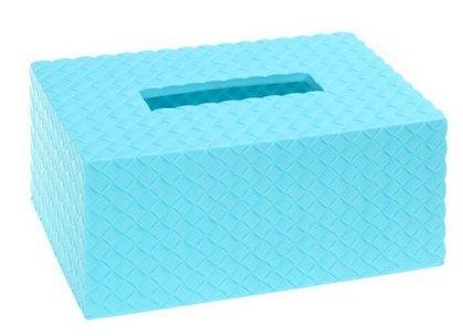 Cute storage box Toilet Tissue Box Cover Car tissue holder Blue