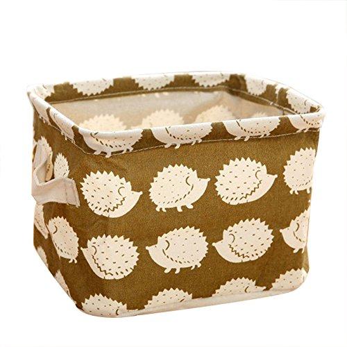 SODIALRCute Cotton linen Desk Jewelry Storage Box£¨Hedgehog£