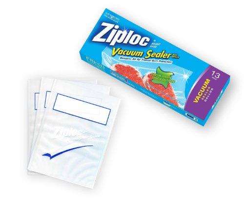 Ziploc Vacuum Sealer Gallon Bags Pack of 13