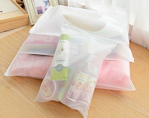 Space Saver Bags Travel Pouch Set Clothing Finishing Storage Pocket Translucent Waterproof Moisture barrier Bags Reusable Organizer Bag7pcsset